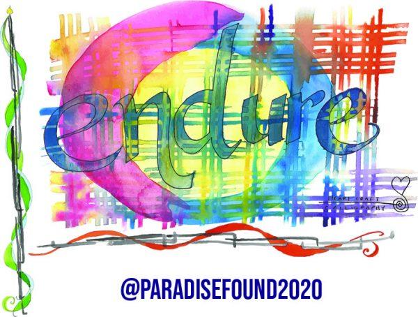 calligraphy: Endure